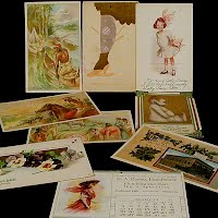 Antique, Vintage Advertising Postcards