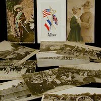 Antique, Vintage Military Postcards