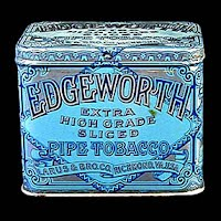 Antique Vintage Edgeworth Tobacco Tin Can, 1903