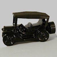 Vintage Avon Black Touring Car Bottle