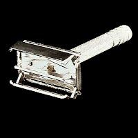 Vintage Gillette Safety Razor, 1950