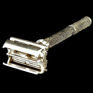 Vintage Gilette Safety Razor, 1950 made in USA