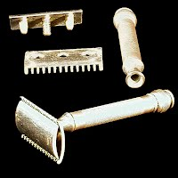 Vintage Safety Razor, before 1900 made in USA