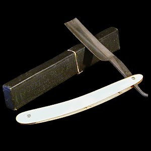 Antique Royal S Palmer Straight Edge Razor