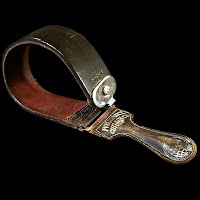 Antique Double Leather Strop #869, Wilbert Cutlery Co, 1910
