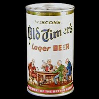 Vintage Beer Can, Old Timers Beer