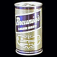 Vintage Beer Can, Breunigs Beer