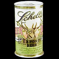 Vintage Beer Can, Schell's Export Beer