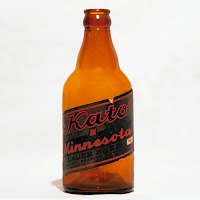 Antique Glass Kato Lager Beer, Mankato Brewing Company
