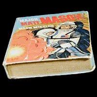 Vintage Big Little Book, Major Matt Mason, Moon Mission, 1968 Western Publishing Co