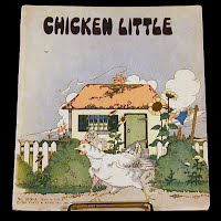 Vintage Book, Chicken Little, 1932 Platt and Munk Company