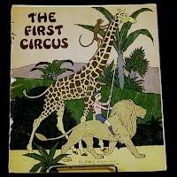 Antique Book, First Circus, 1932 Platt and Munk Company