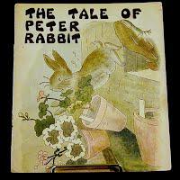Antique Book, The Tale of Peter Rabbit, 1932 Platt and Munk Company