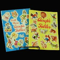 Vintage Aesop's Fables and Still More Aesop's Fables, 1965 Ideals Publishing Co