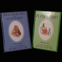 Vintage Pop-Up Children's book, Benjamin Bunny Visits Peter Rabbit, Meets Peter Rabbit Peter Rabbit, 1986
