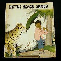Antique Little Black Sambo Book #3100-B, 1932 Platt and Munk Co.