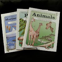 Vintage Educational Books 93): Marine Biology Book VI (1982), Plants Book I (1980), Animal Book III (1980)