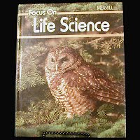 Focus On Life Science Book, Merrill, 1989