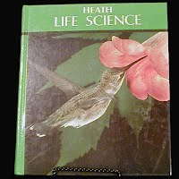 Vintage Life Science Book, Heath, 1985