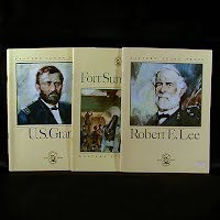 Vintage Educational Books (3): U.S. Grant (1972), Fort Sumter 1861 (1976), Robert E Lee (1983)