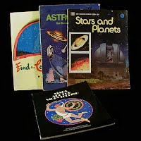 Vintage Educational Books (4): Find the Constellations (1976), Astronomy (1974), Stars are for Storytelling (1973)