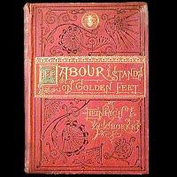 Antique Book, Labour Stands on Golden Feet