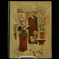 Antique Book, Holiday Buds and Blossoms, 1889 School Herald