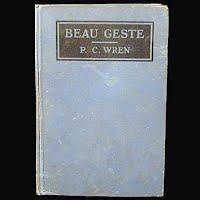 Antique Book: Beau Geste, Precival Wren, 1926