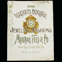 Vintage Reprint 1896 Marshall Fields, Company Illustrated Catalogue of Jewelry and European Fashion