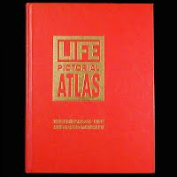 Vintage Book, 1961 Life Pictorial Atlas of the World
