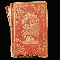 Antique Book, The Winter Bloom, 1850