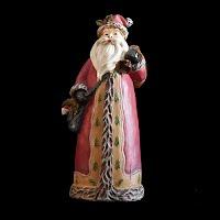Vintage Christmas Old World Santa Figurine