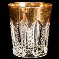 Antique EAPG Duncan Empire Shot Glass
