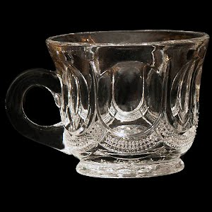 Antique EAPG Galloway Punch Cup