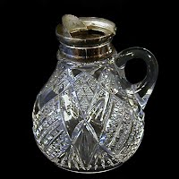 Antique EAPG Eureka Syrup Pitcher, 1901 McKee & Brothers