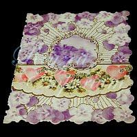Antique Ephemera, Valentine card, Heart's Gift