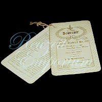 Antique 1897 Ephemera Souvenir School District No. 60