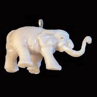 vintage elephant charm