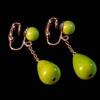 Vintage Green Earrings