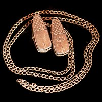 Vintage Metal Eyeglass Chain
