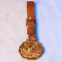 Antique National Sportman Watch Fob