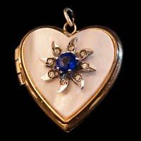 Vintage Heart Locket Pendant