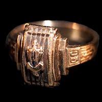 Vintage 1940 Class Ring, 10K