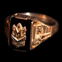 Vintage 1970 Mankato Class Ring, 10K