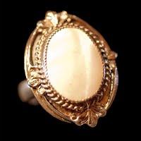 Vintage White Ring