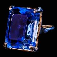 Vintage Blue Ring
