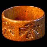 Vintage Thunderbird Copper Ring