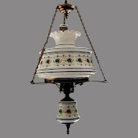 Vintage Quoizel Hanging Lamp, 1978