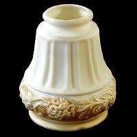 Antique White Satin Glass Shade