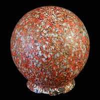 Antique Multi-Colored Globe